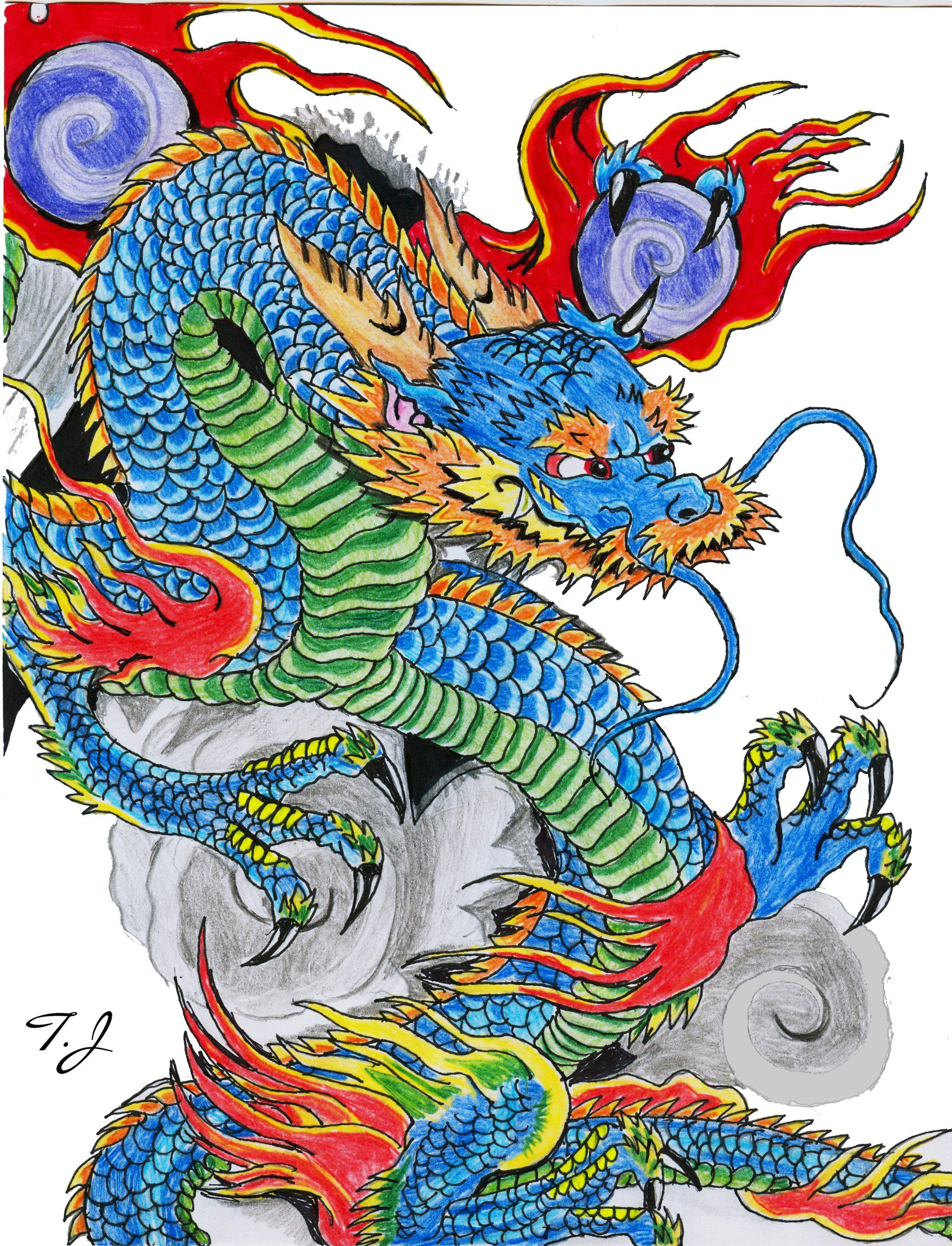 pin by rick green on anything mixed pinterest dragon chinese dragon and dragon art. Black Bedroom Furniture Sets. Home Design Ideas