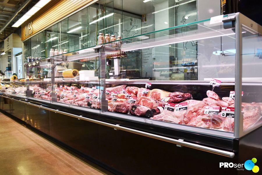Vitrina de carnes mi tienda carnicer as baratas vitrinas supermercado y fiambreria - Mostradores para carniceria ...