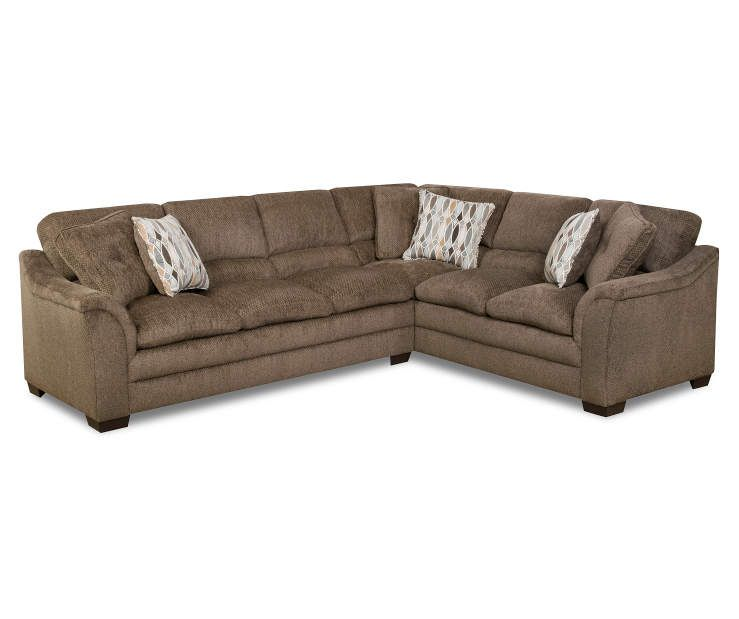 Simmons Top Living Room Sectional At Lots