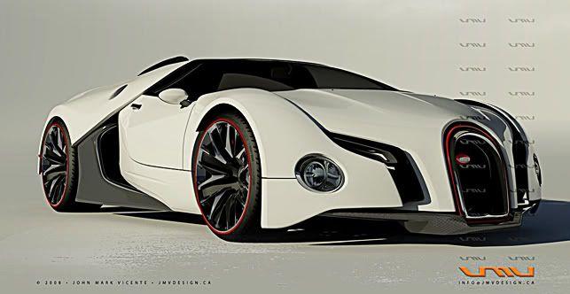 Bugatti Automóvil Conceptual Autos Autos Y Motocicletas