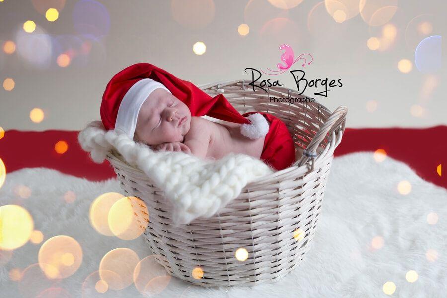 seance-photo-nouveau-ne-shooting-noel-rosa-borge | Photo bébé naissance,  Shooting photo bébé, Photo bébé