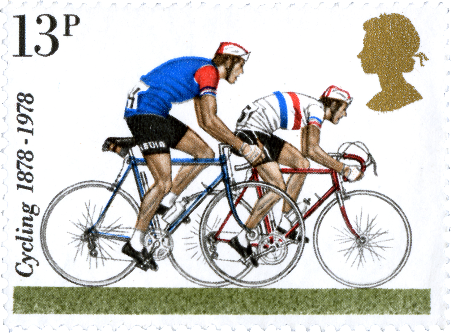 1978 Road Racers Specialstamp From 1978 Centenaries Of Cyclists Touring Club And British Cycling Federation Commemorative Stamps Stamp Post Stamp