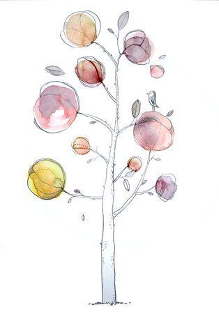 Cecile Hudrisier Illustration Effet Aquarelle Les Arts Dessin