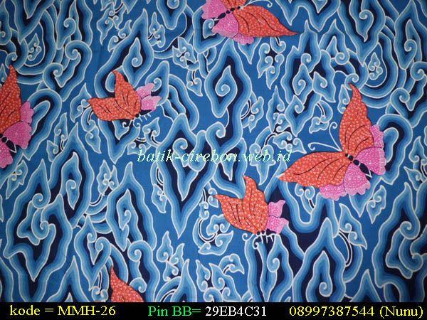 Batik Cirebon Motif Mega Mendung Kupu Kupu Clouds Butterflies Maybe For Curtains Batik Indonesian Batik Neon Signs