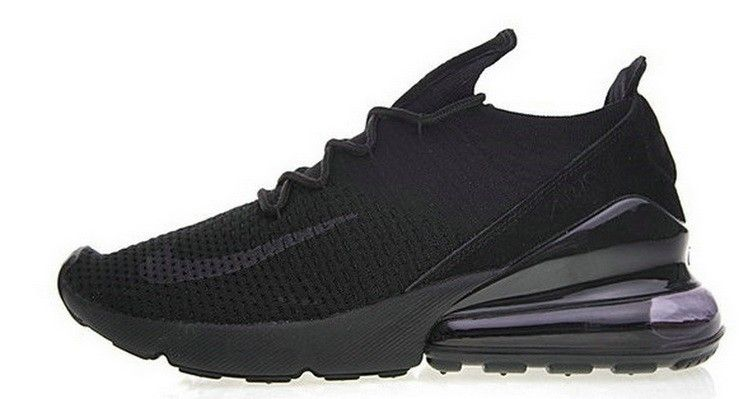 official photos 1a37a 7627d Nike Air 270 Flyknit All Black AH6803 002