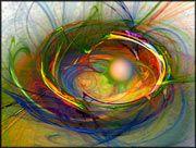 """Malerisch abstrakte Bildkomposition """"Melting Pot"""", expressionistische, abstrakte Digitale Kunst."""