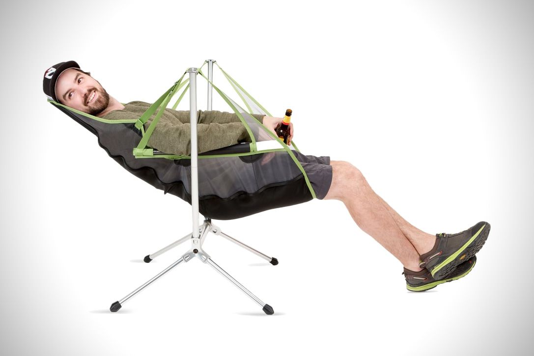 Nemos reclining camp chair was built for campsite