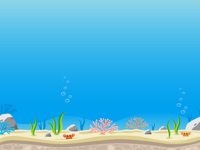 Sidescroller Game Background Under The Ocean Under The Sea Background Under The Ocean Shark Background