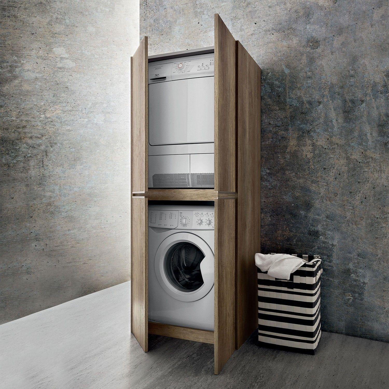 Colonna Porta Lavatrice E Asciugatrice Blizzard Diotti Com Schrank Waschmaschine Waschmaschine Trockner Schrank Trockner Auf Waschmaschine