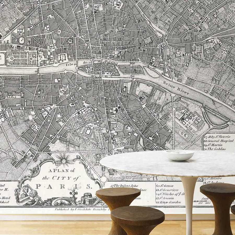 Map Wall Paper personalised map wallpaper   wallpaper, walls and wall papers