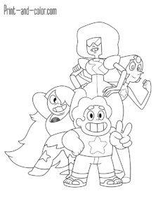Pin On Steven Universe Coloring Pages