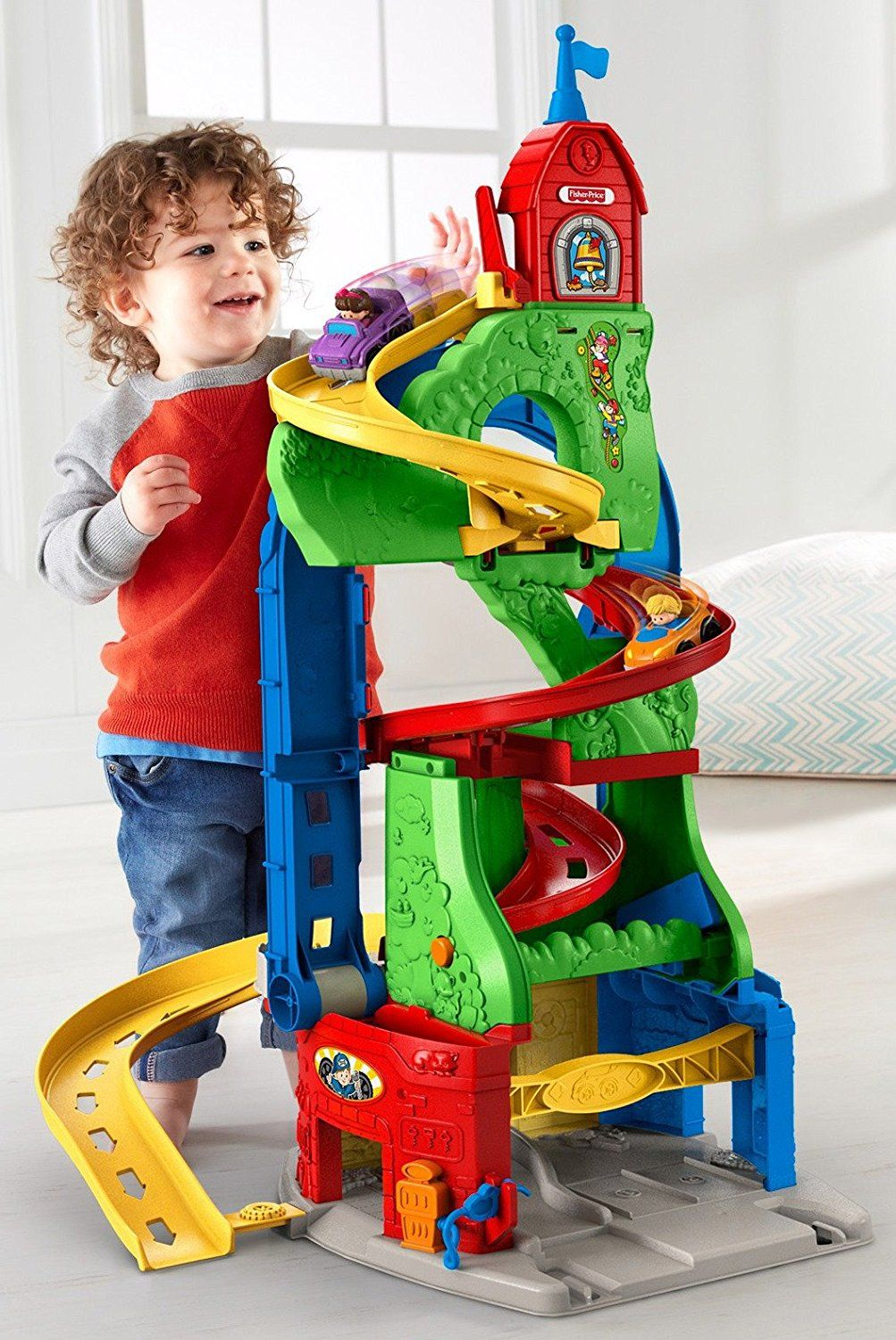tour spirale de fisher price un jouet volutif. Black Bedroom Furniture Sets. Home Design Ideas