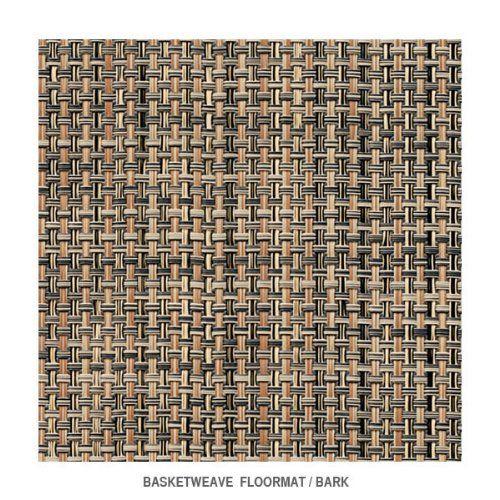 Chilewich Basketweave Floormat 35 X 48 Bark Click On