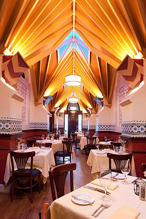 Great Restaurants In Houston Mark S American Cuisine Texas Interior Shot