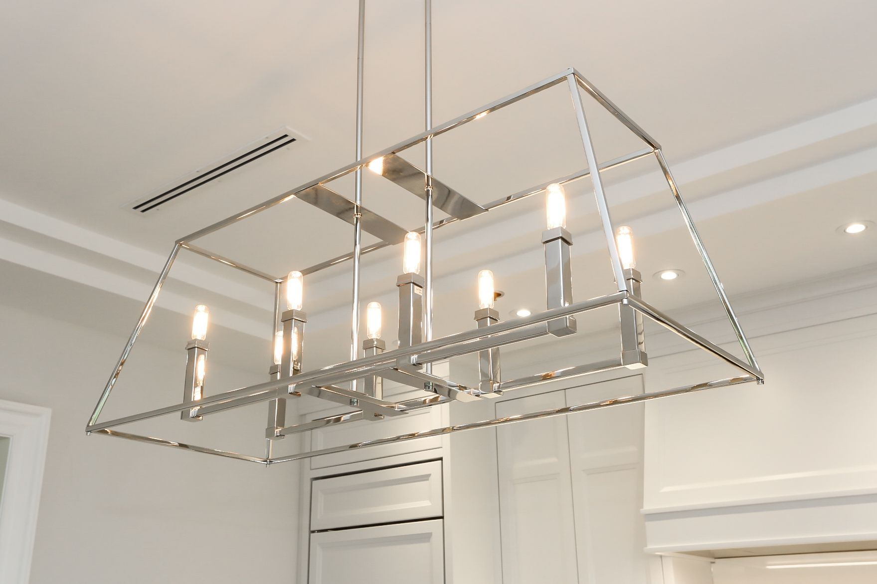 Showroom At Marana Kitchens Lighting