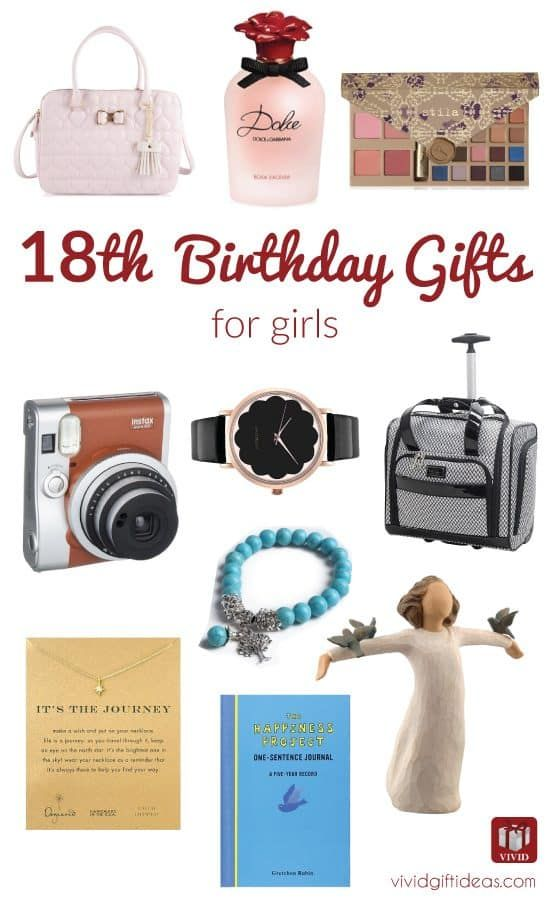 18th Birthday Gift Ideas For Girls Teen Gifts