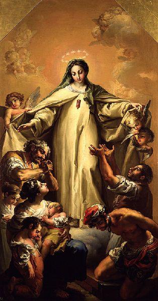 VICENTE LOPEZ VIRGEN DE LA MERCED REDENTORA DE CAUTIVOS   Virgen ...