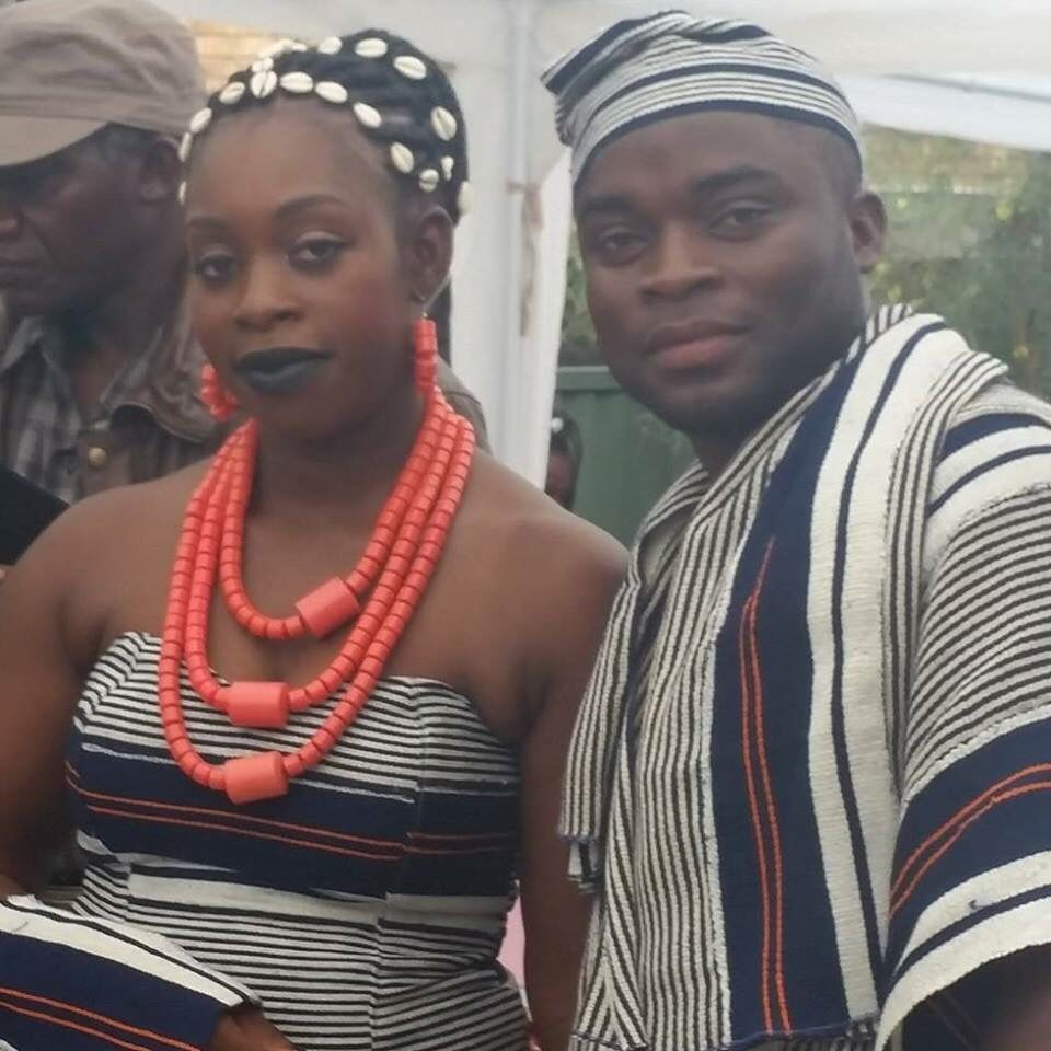 Liberian Traditional Attire Dj Flex And His Wife