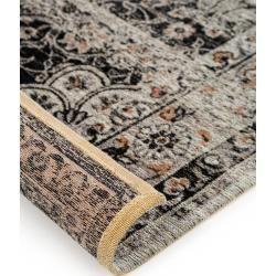 Photo of benuta Flachgewebeteppich Frencie Schwarz 160×235 cm – Vintage Teppich im Used-Look benuta