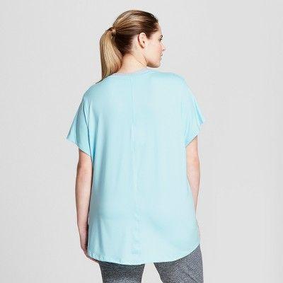 0de410b5185e2 Women s Plus-Size Soft Tech T-Shirt - C9 Champion  Black 1X  Soft ...