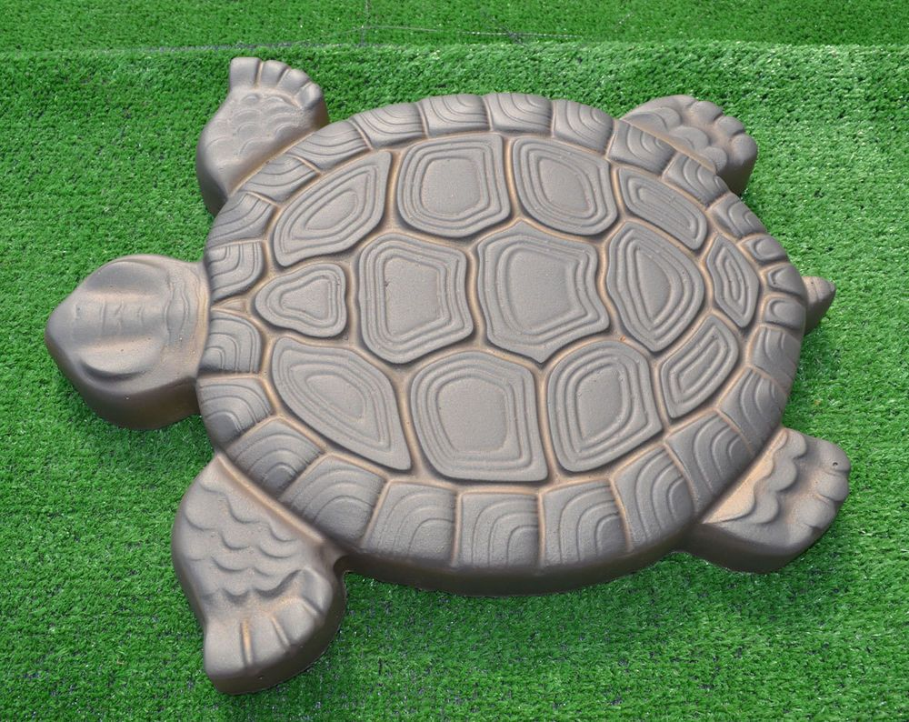 Marvelous Turtle Stepping Stone Mold Concrete Cement Mould ABS Tortoise For Garden  Path