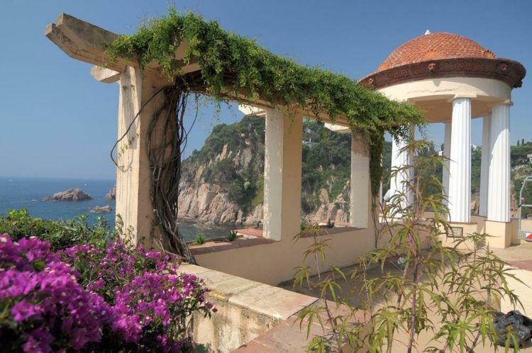Plantas de exterior para terrazas y balcones - 38 ideas - Lofts - decoracion de terrazas con plantas