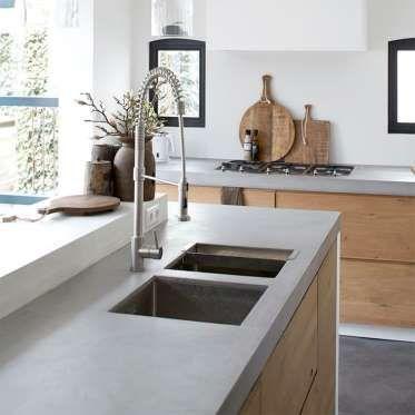Une autre solution de rechange à la rénovation de la cuisine est de - maison en beton coule