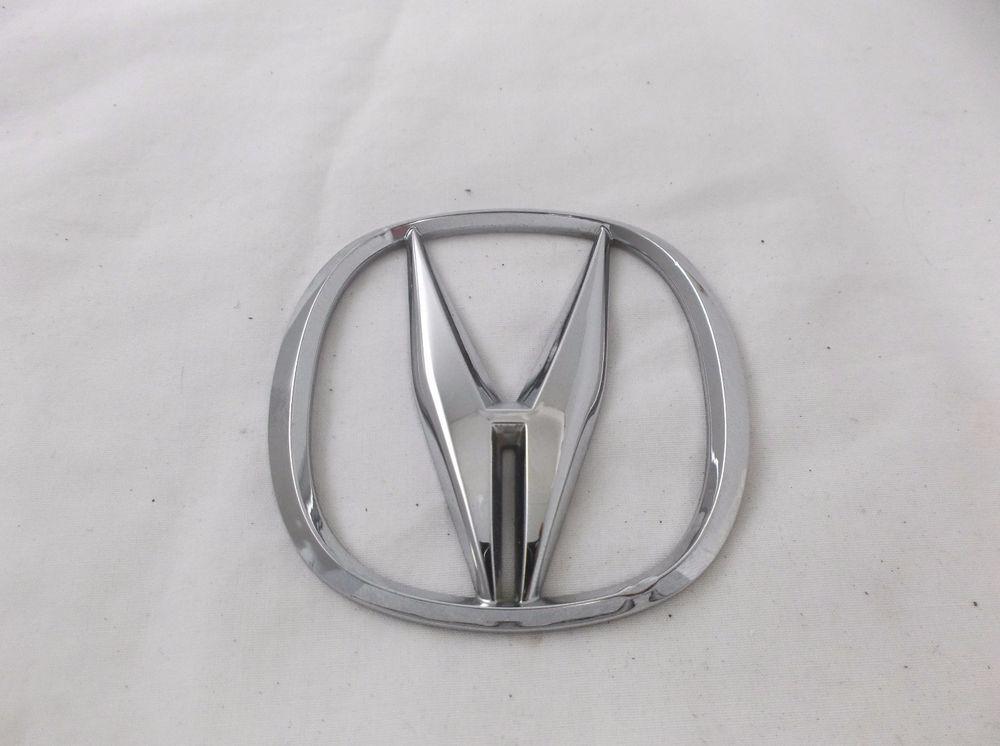 ACURA TL Trunk Emblem Badge Symbol Nameplate A Logo Rear Lid - Acura emblem