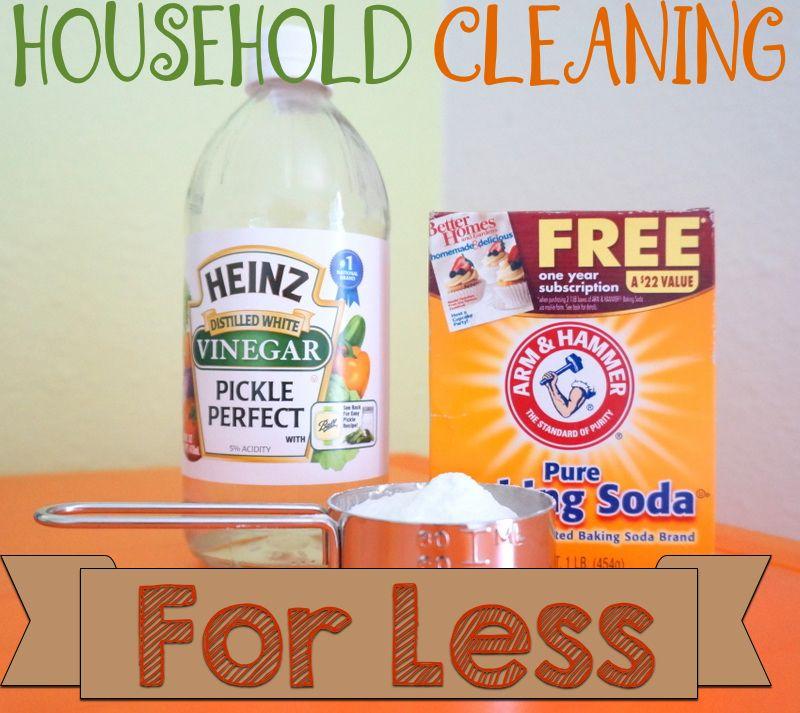 Diy Household Cleaners Baking Soda Vinegar