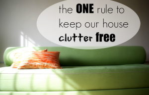 There's ONE item that keeps our entire house clutter free and has single handedly changed the way we pick up and organize our home!
