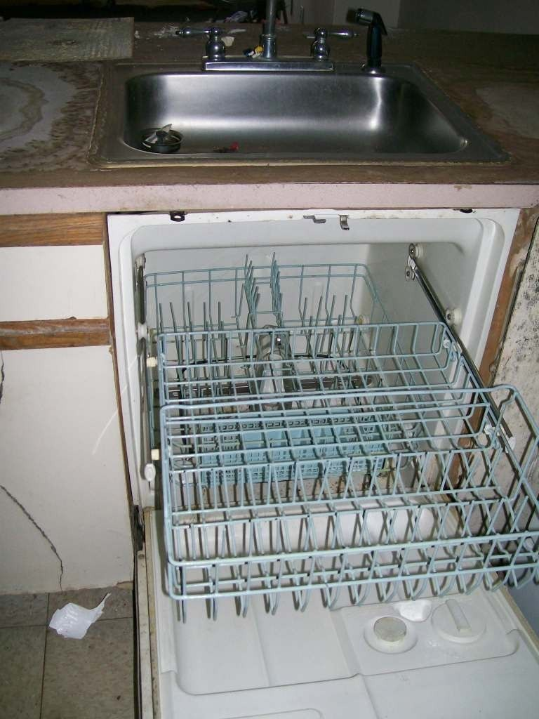Dishwasher under sink