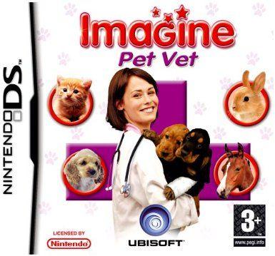 Imagine Pet Vet Nintendo Ds Amazon Co Uk Pc Video Games Nintendo Ds Nintendo Ds Games