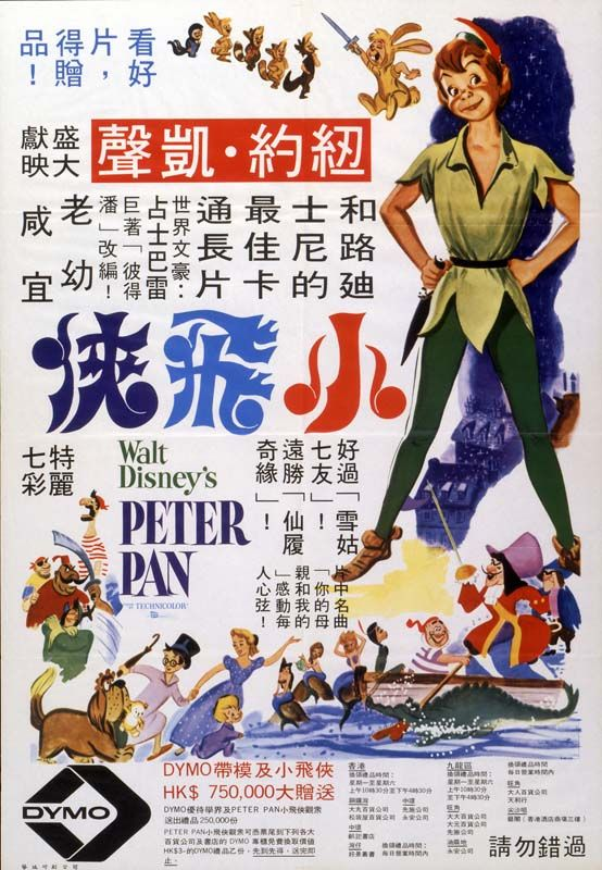 Throwback Thursday: Peter Pan's Posters www.shopowersreview.com