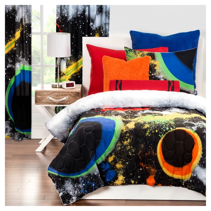 Crayola Out Of This World Comforter Set Target Comforter Sets