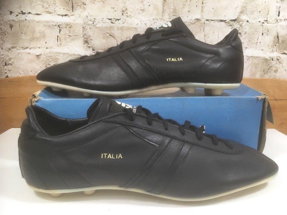 Vintage 1970s Simlam Italia football Boots Uk11 US12 Eu46 OG