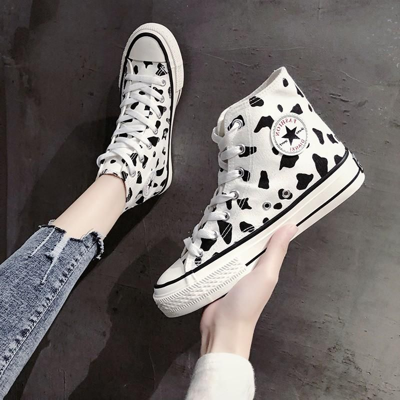 Cow canvas shoes KF90617 – unzzy