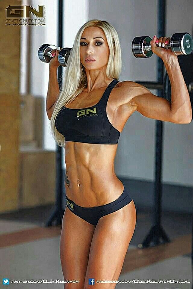 Olga Kulinych 26 Fitness Models Love Fitness Fitness