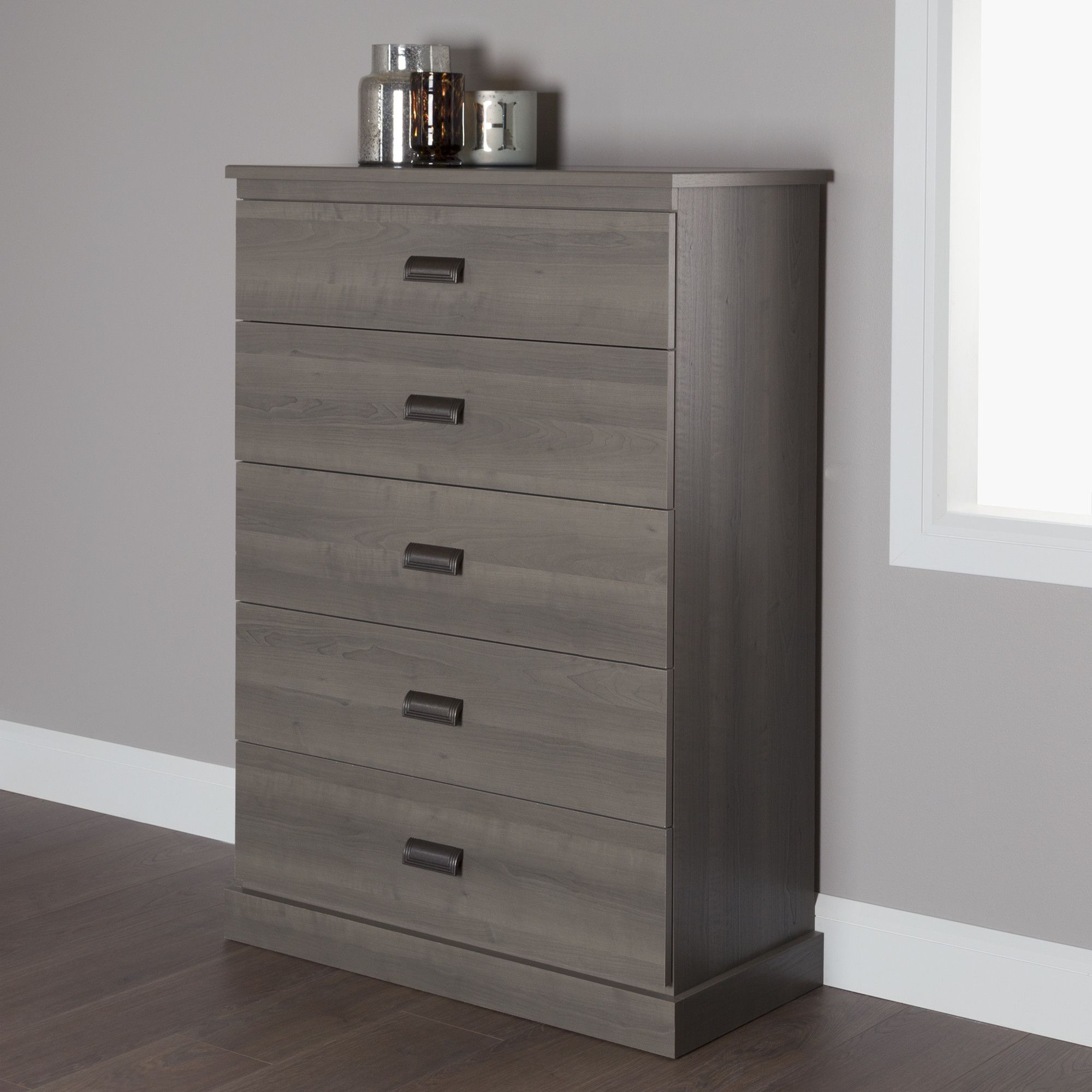 Shop Wayfair For Dressers To Match Every Style And Budget Enjoy Free Shipping On Most Stuff Even Big Stuff Chest Of Drawers Weathered Oak 5 Drawer Chest [ 2000 x 2000 Pixel ]