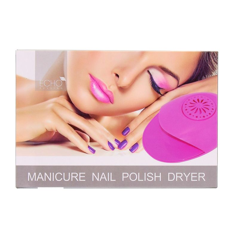 Nail Polish Dryer For The Perfect Manicureportable Design That Dries Nails In Minuteswind Fan Sds Up Drying Processdryer Switches On Automatically