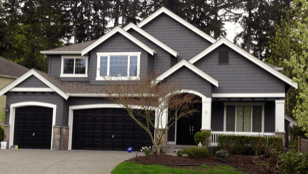 Gray exterior paint colors - Elegant painting® | Exterior Update ...