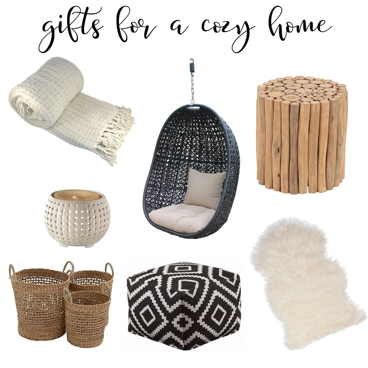 Gift Guide for a cozy home. | Cozy house, Living room ...