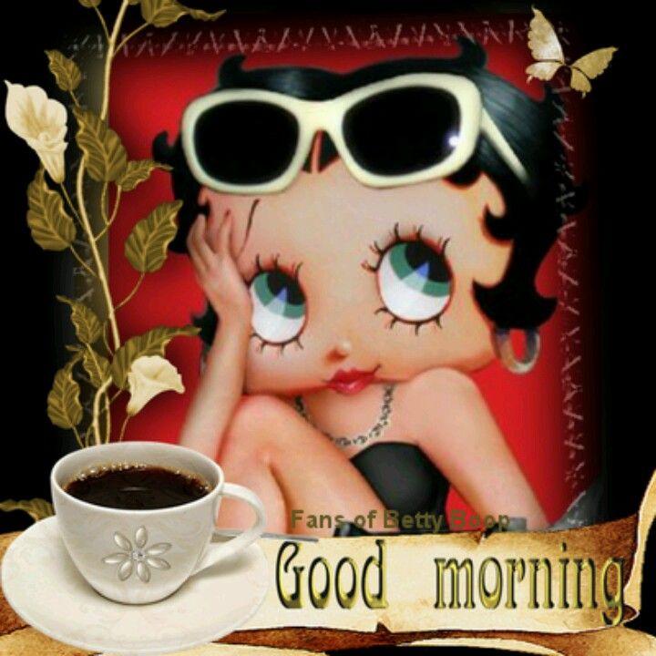 Good Morning, to you too... | Betty boop, Betty boop cartoon ...