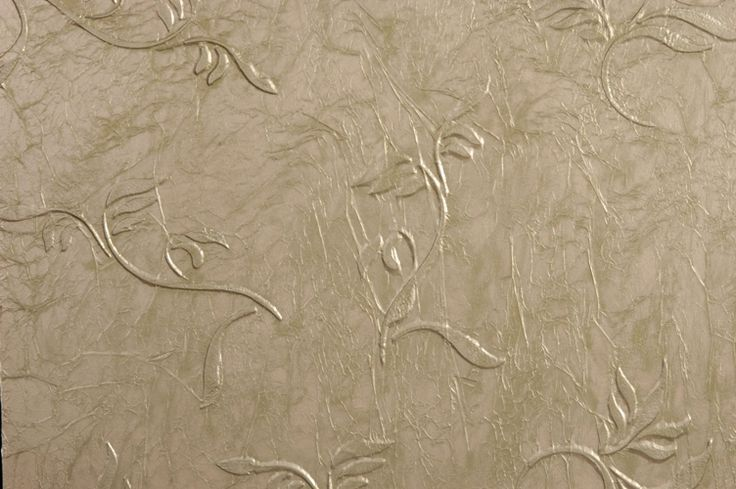 Faux Painted Tissue Papered Walls Designs On Tissue