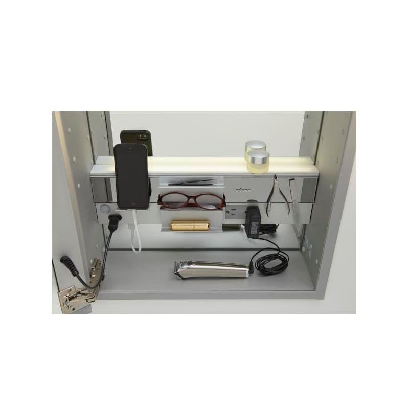 Robern Mc2430d4fple2 Single Doors Luxury Kitchens Medicine Cabinet