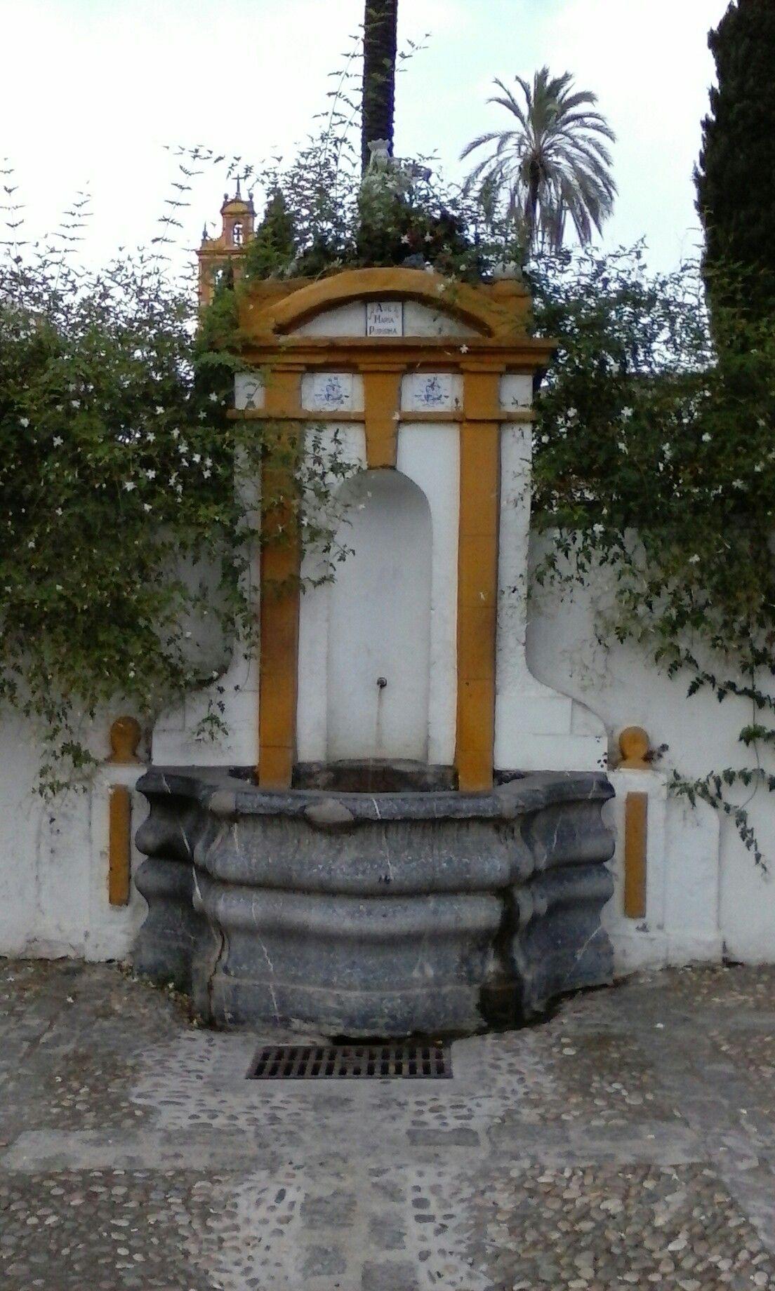 Fuente de San Cayetano. Córdoba