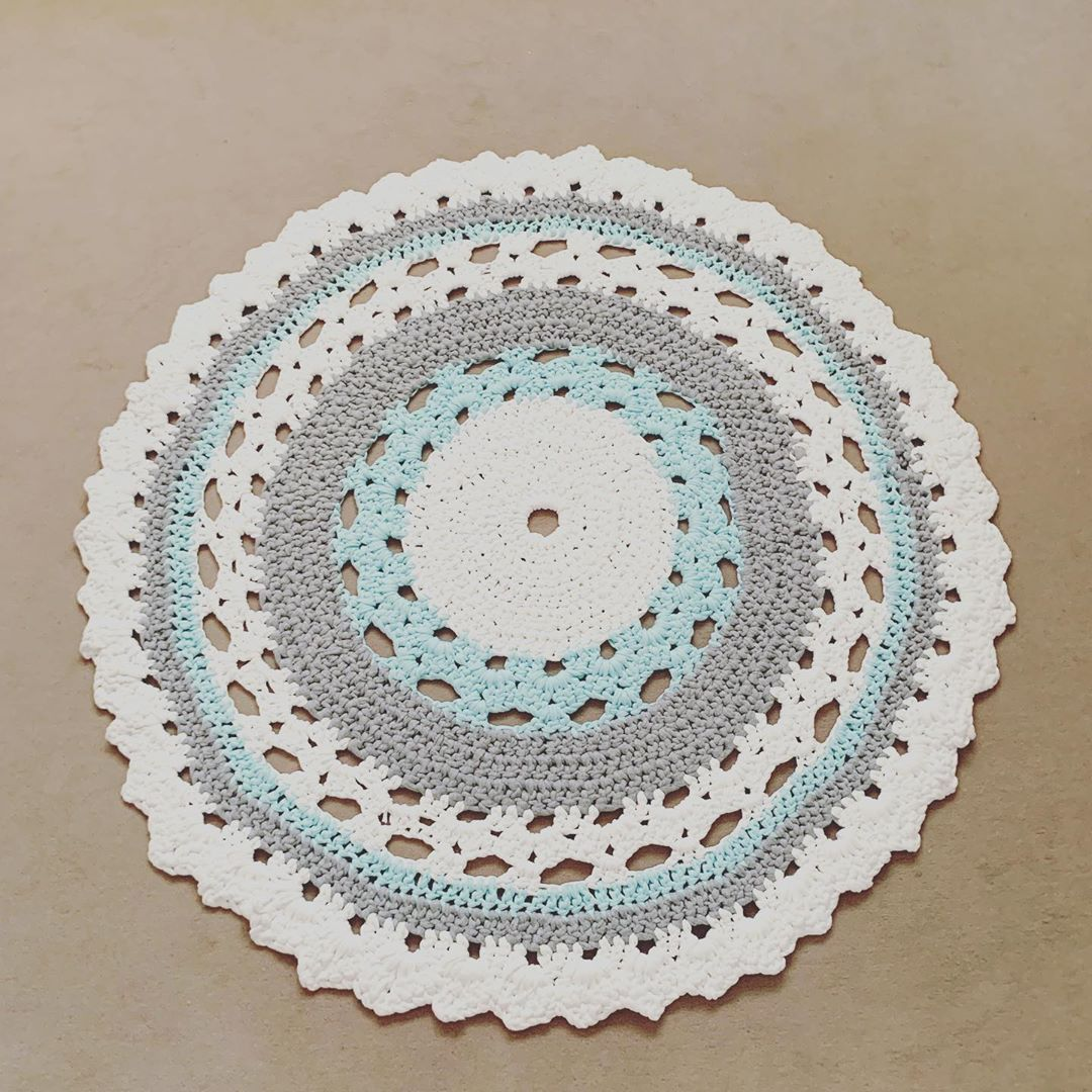 Tapis Tapisfaitmain Crochet Crochetcreations