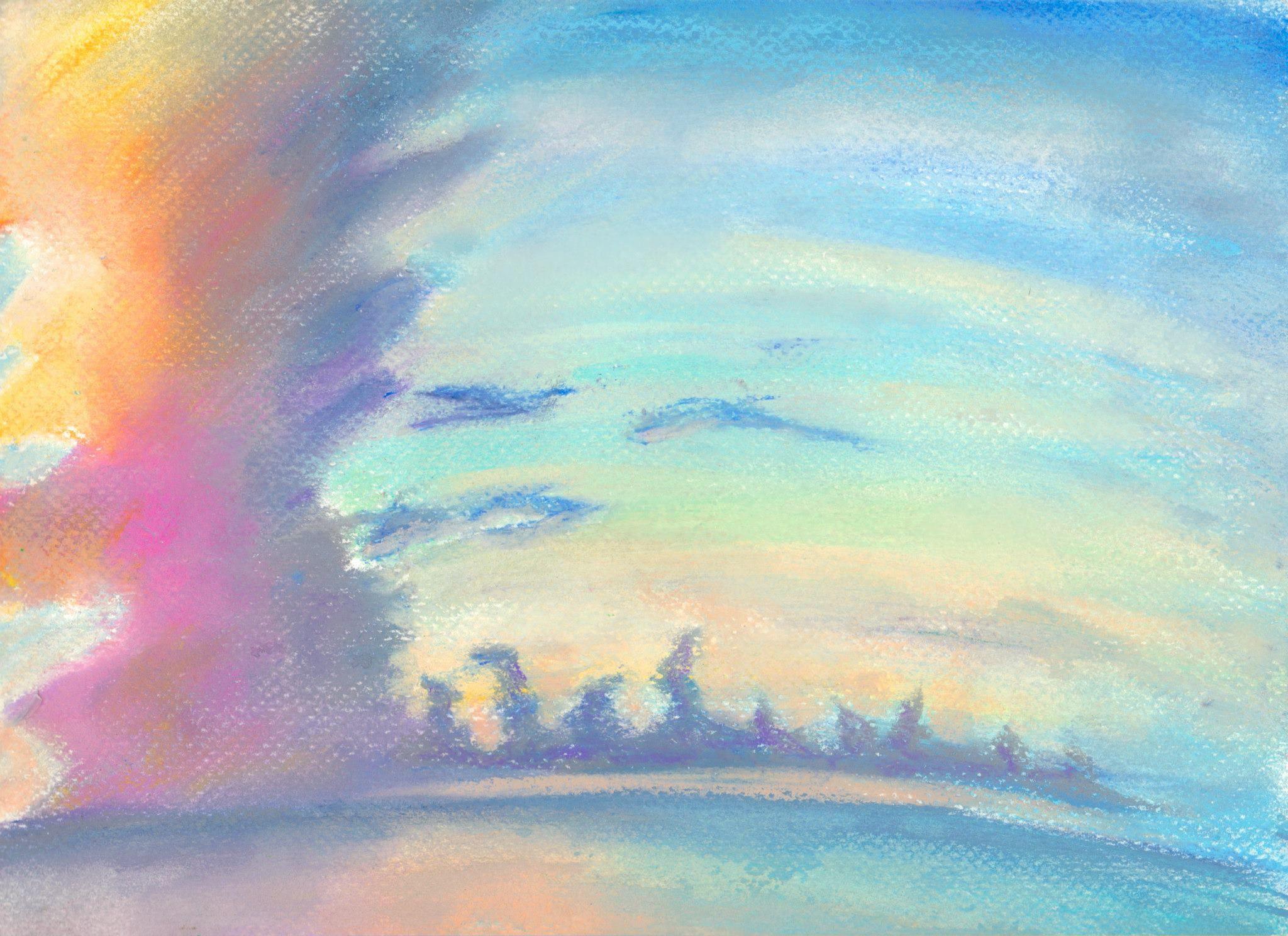 """""""Dream,""""  Pastel, 9x12 in.  Sarah Szabo (2012)"""