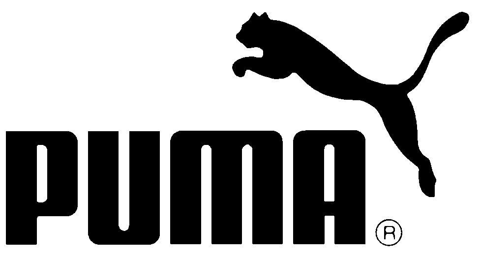 Dit is het Puma logo met een Puma als dier rechts boven in