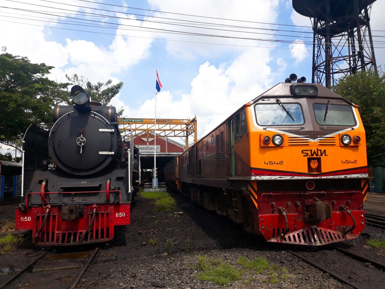 Steam locomotive and general electric in thailand | steam