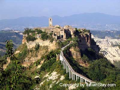 Civita di Bagnoreggio, Italy... so breath taking! You can\'t drive ...
